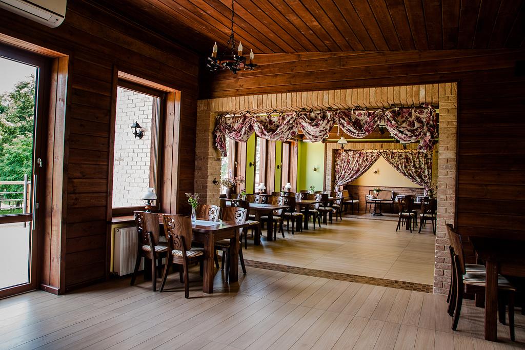 Sala w Zajeździe Sokołda